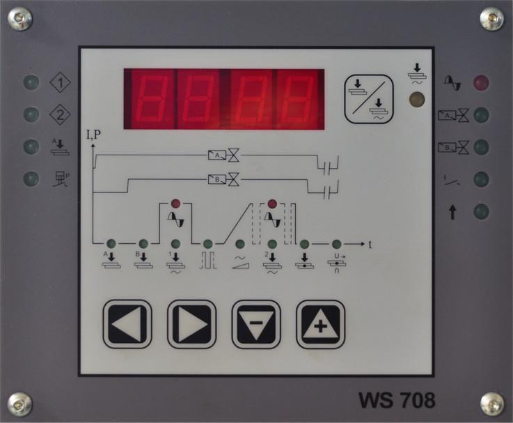 WS 708 vezérlőegység